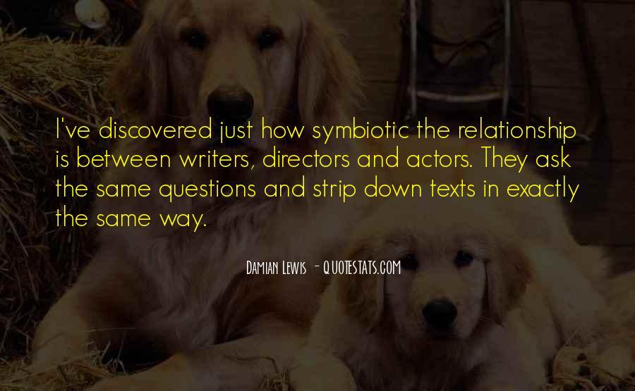 Symbiotic Quotes #602543