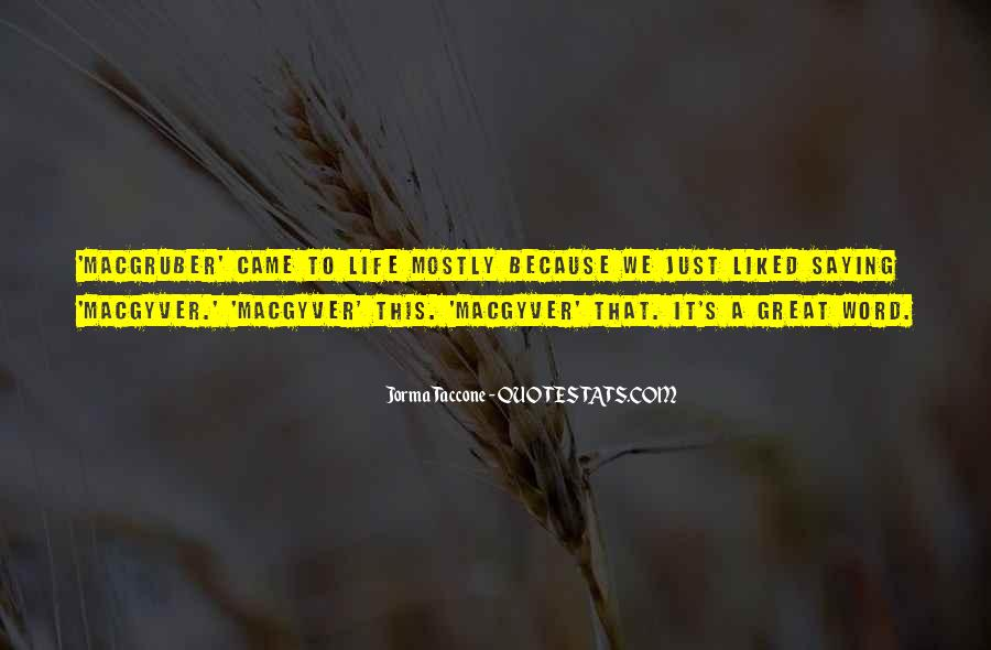 Taccone's Quotes #1056209
