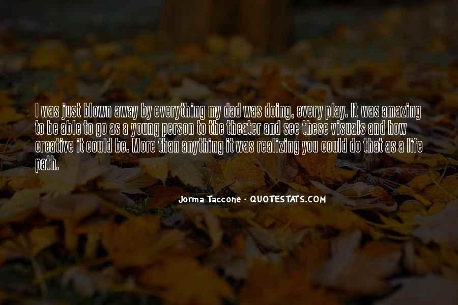Taccone's Quotes #1321098