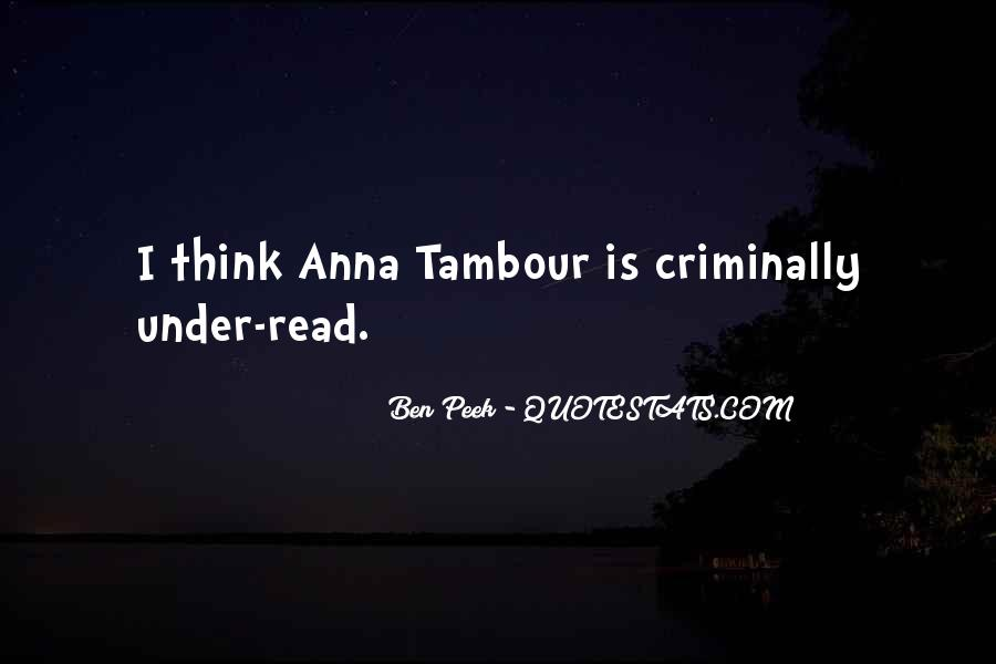 Tambour Quotes #1260925