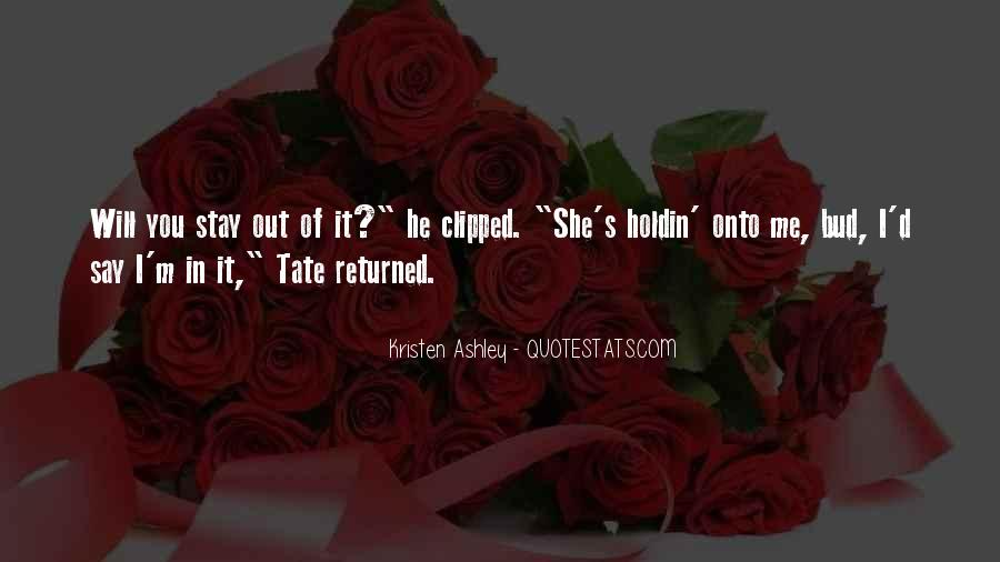 Tate's Quotes #1257368