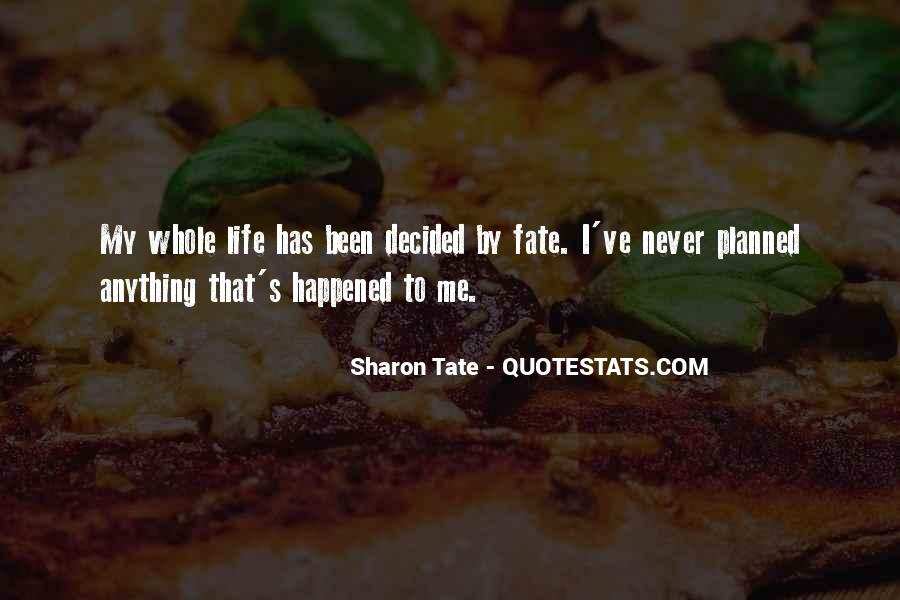 Tate's Quotes #1359068