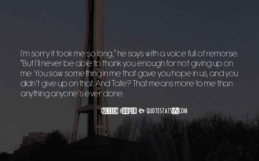 Tate's Quotes #940500