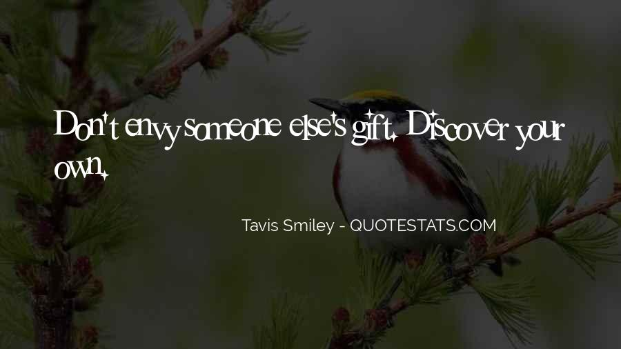 Tavis Quotes #1244426