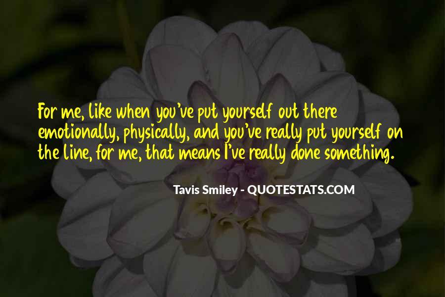 Tavis Quotes #1473351