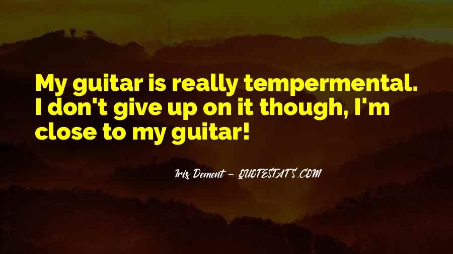 Tempermental Quotes #1298852