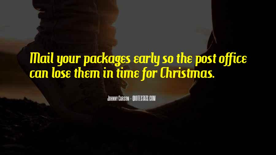 Quotes About Christmas Too Early #210434