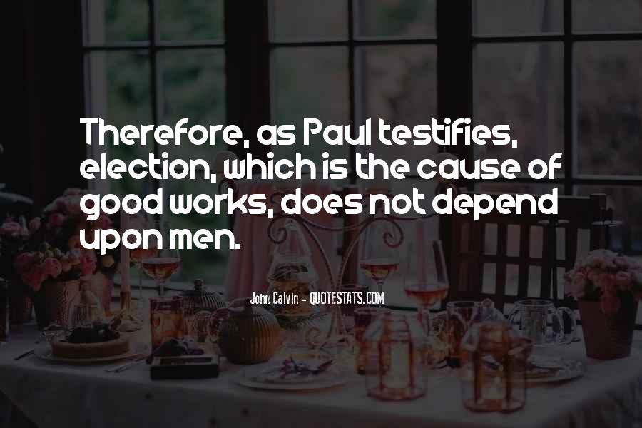 Testifies Quotes #774510
