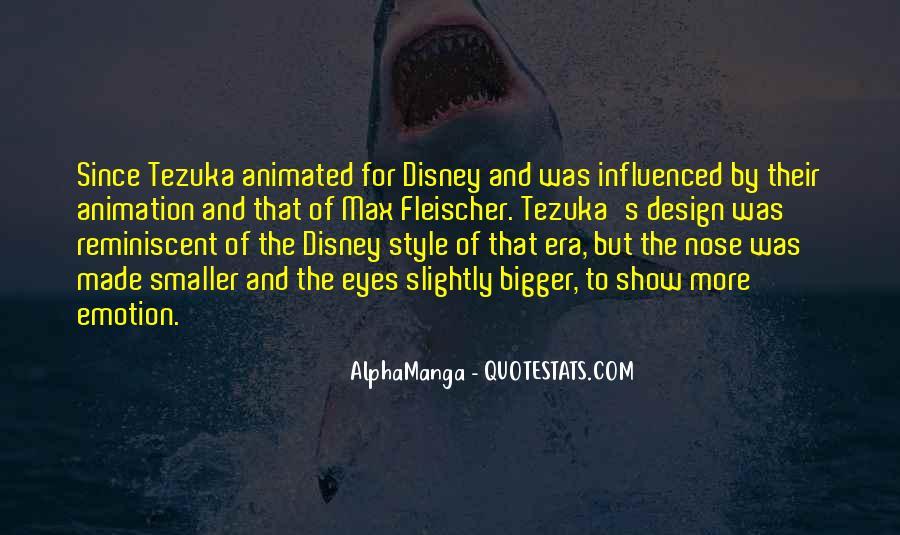 Tezuka's Quotes