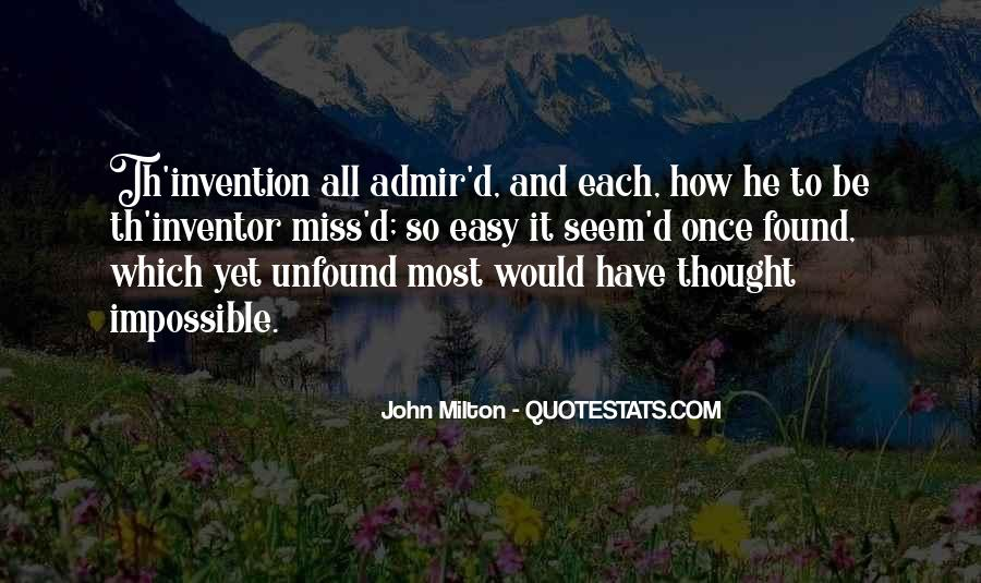 Th'inventor Quotes #832652