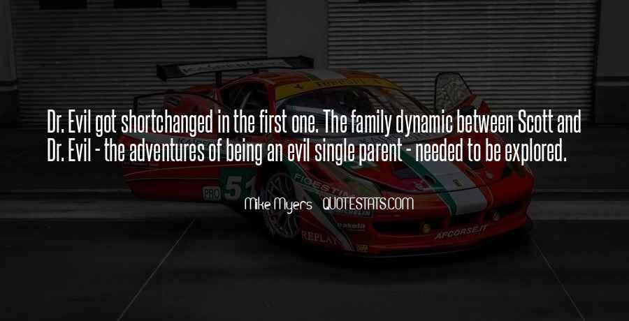 Quotes About Being Single Parent #298147
