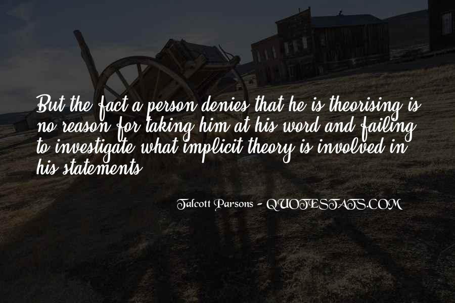 Theorising Quotes #1472778
