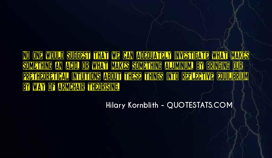 Theorising Quotes #890913