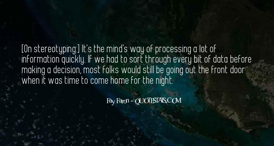 Quotes About Data Processing #1153407
