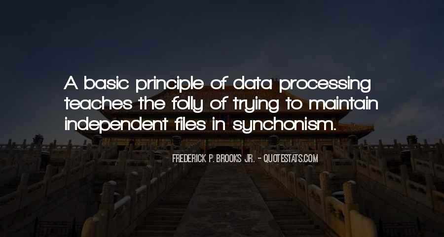 Quotes About Data Processing #1215565