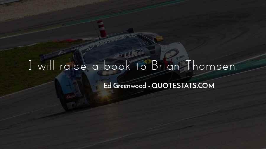 Thomsen Quotes #537645