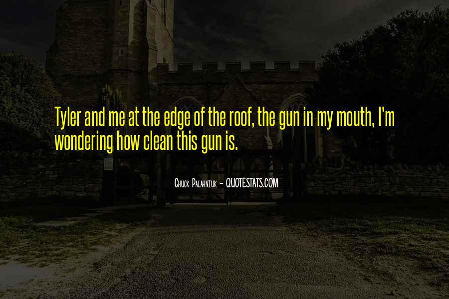 Quotes About Tyler Durden #1067819