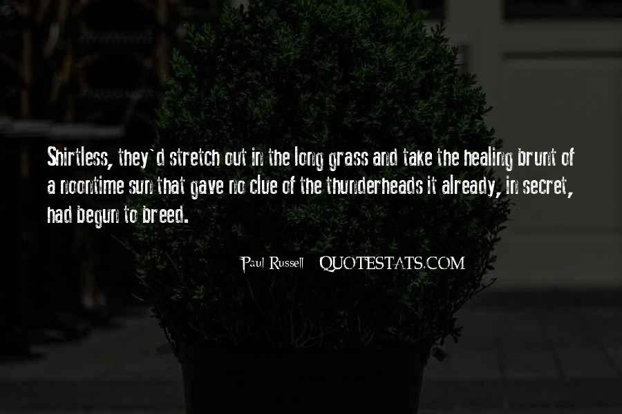 Thunderheads Quotes #1135045