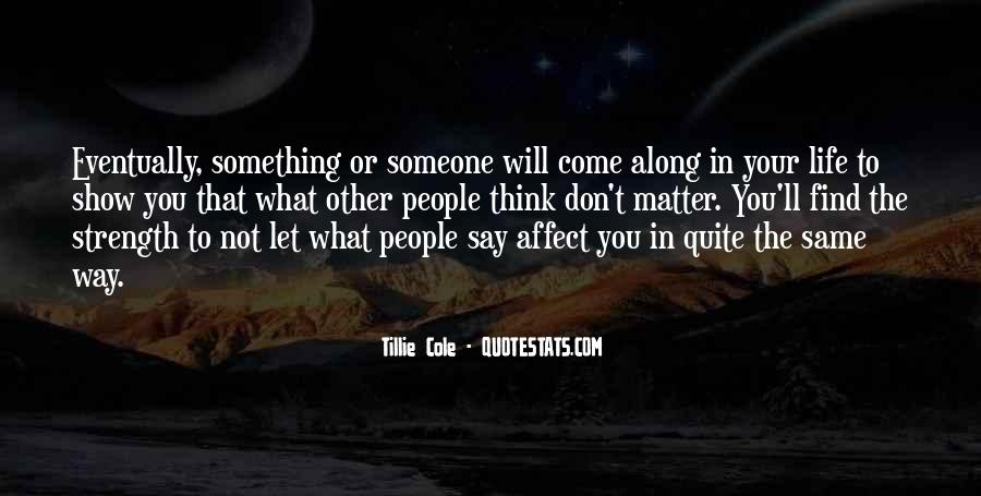 Tillie's Quotes #1156567