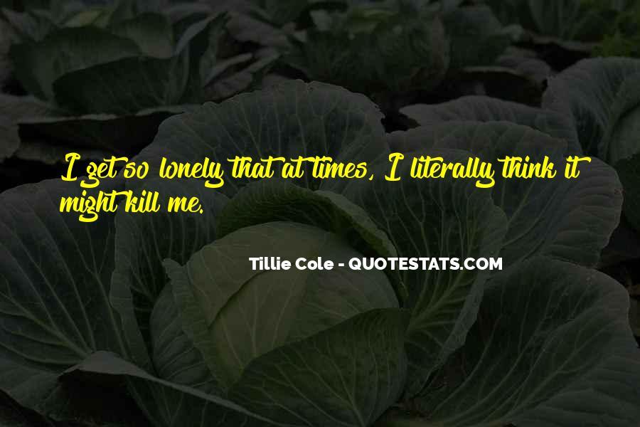 Tillie's Quotes #12160