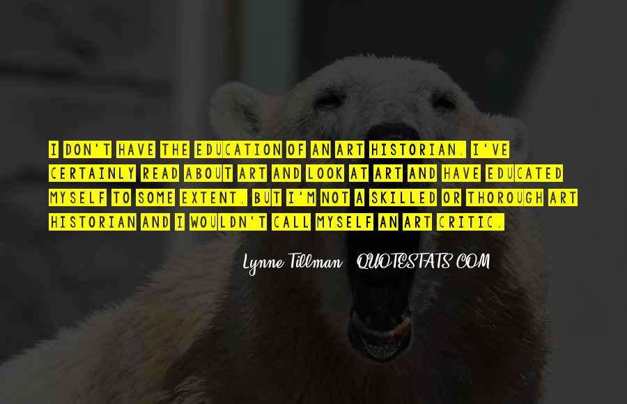 Tillman's Quotes #1020718