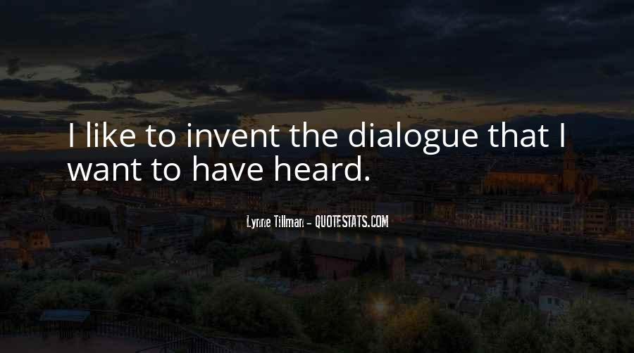 Tillman's Quotes #1141721