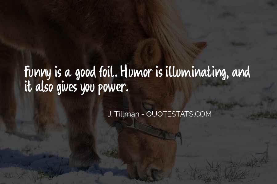 Tillman's Quotes #1231937