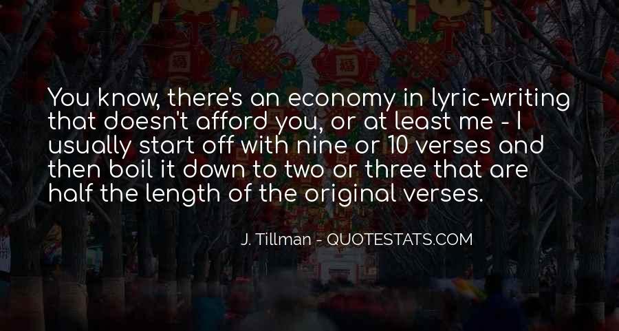 Tillman's Quotes #1495853