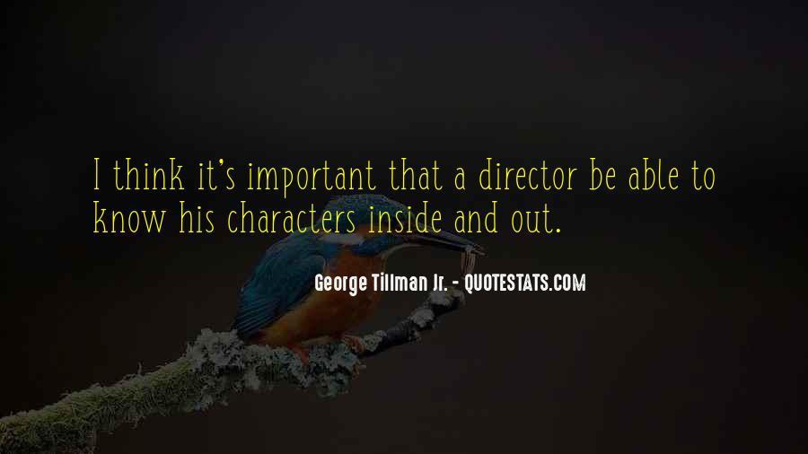 Tillman's Quotes #1546380