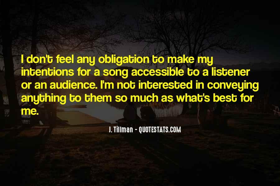 Tillman's Quotes #1553680