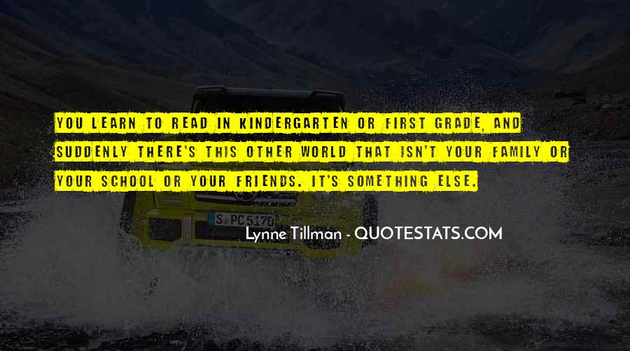 Tillman's Quotes #244164