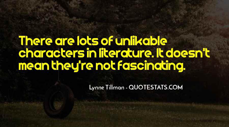 Tillman's Quotes #276380