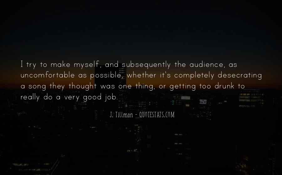 Tillman's Quotes #309015