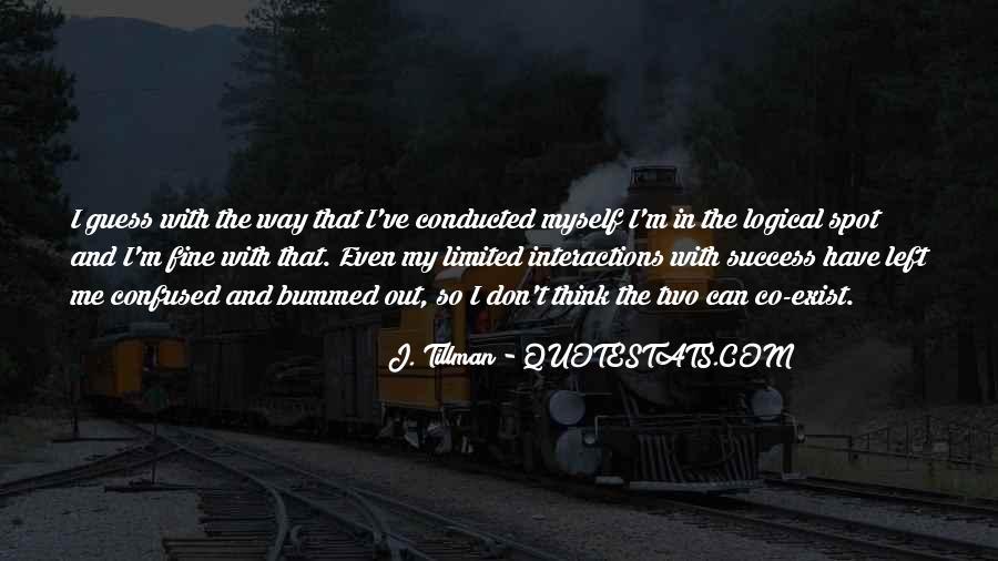 Tillman's Quotes #317035