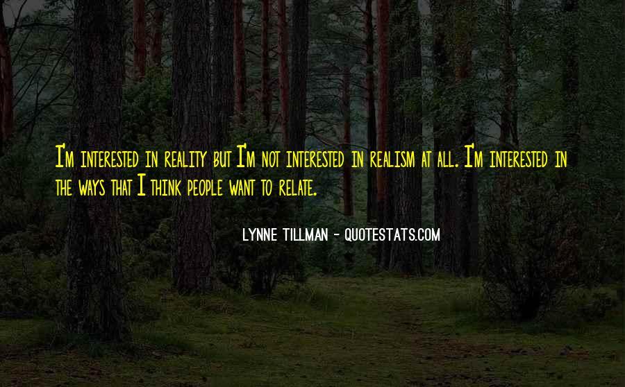 Tillman's Quotes #394778