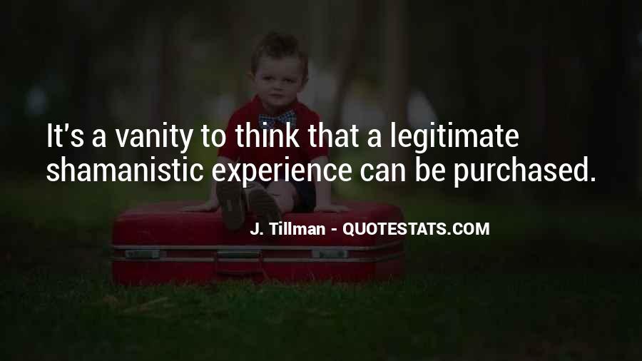 Tillman's Quotes #793683