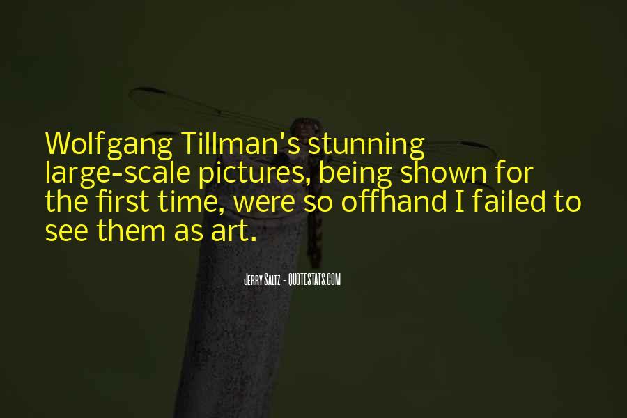 Tillman's Quotes #81908