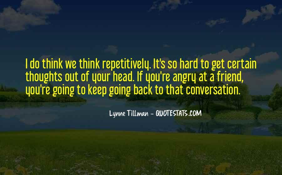 Tillman's Quotes #837312