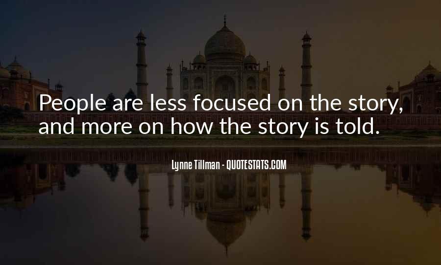 Tillman's Quotes #84203