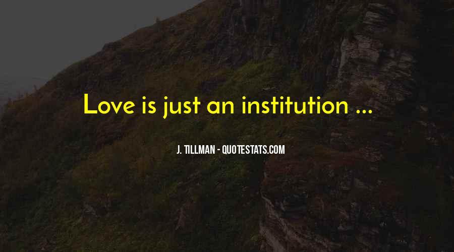 Tillman's Quotes #883710
