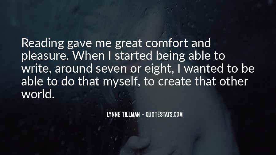 Tillman's Quotes #938339