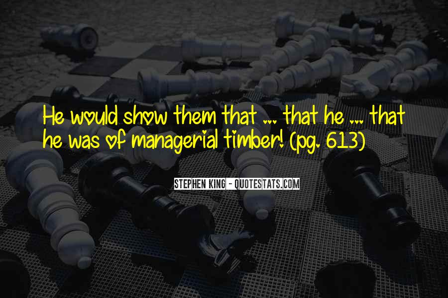 Timber'd Quotes #1522912