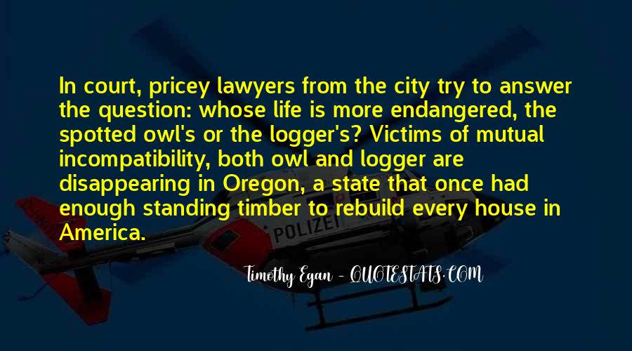 Timber'd Quotes #1707960