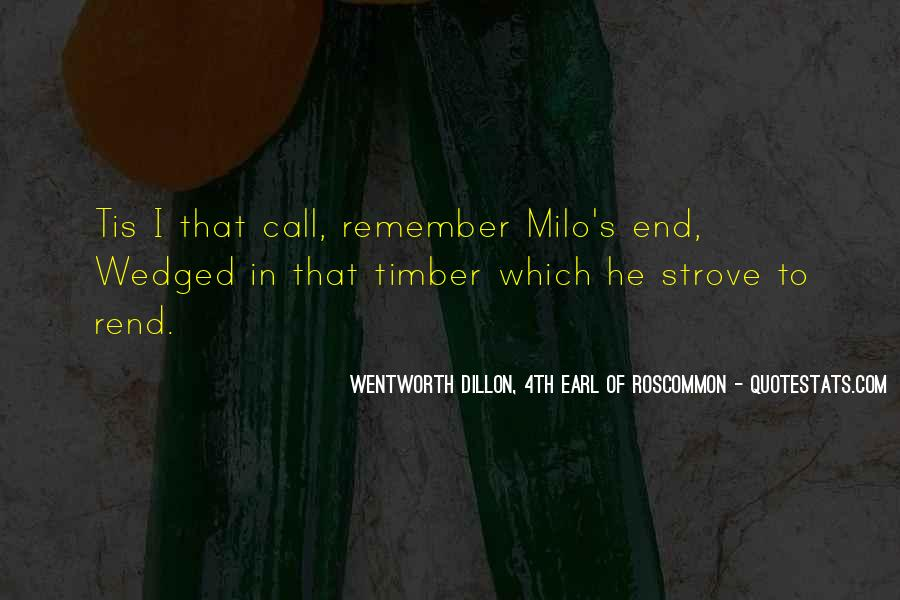 Timber'd Quotes #218978