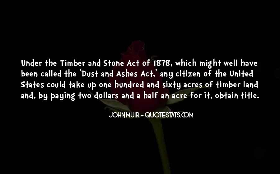 Timber'd Quotes #822411
