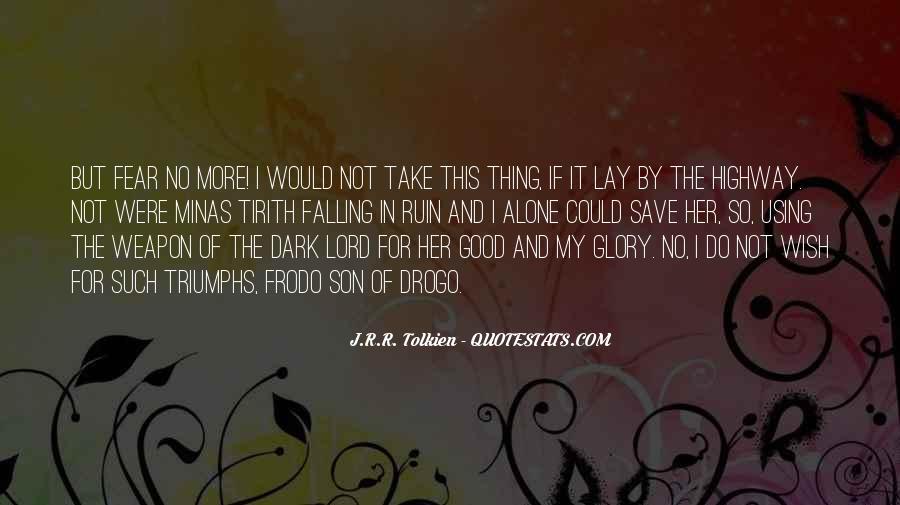 Tirith Quotes #195981