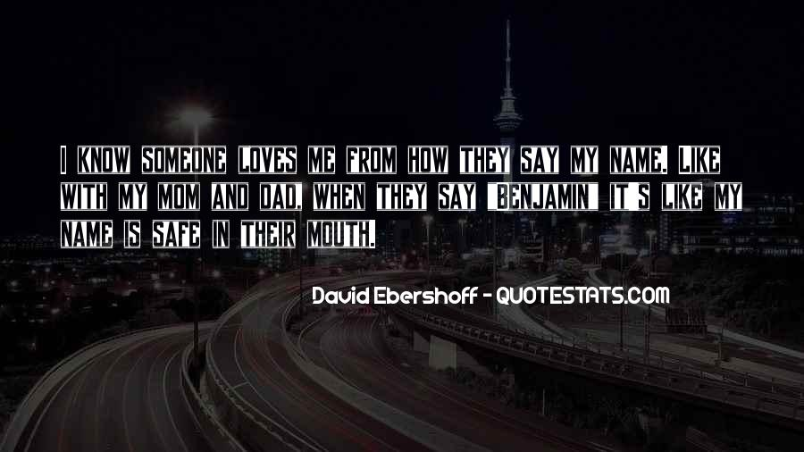 Quotes About Someone's Name #1008862
