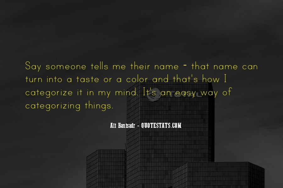 Quotes About Someone's Name #1242679