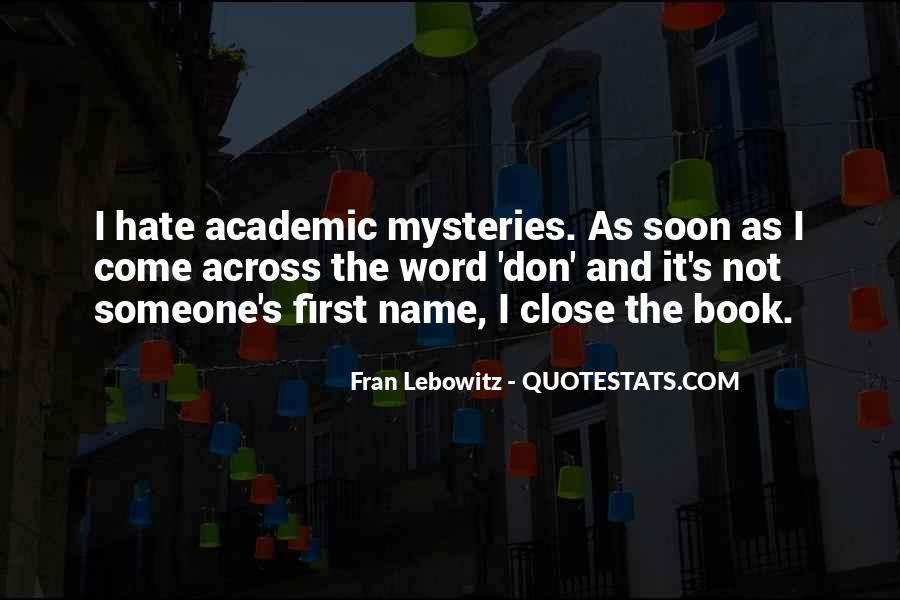 Quotes About Someone's Name #1285584