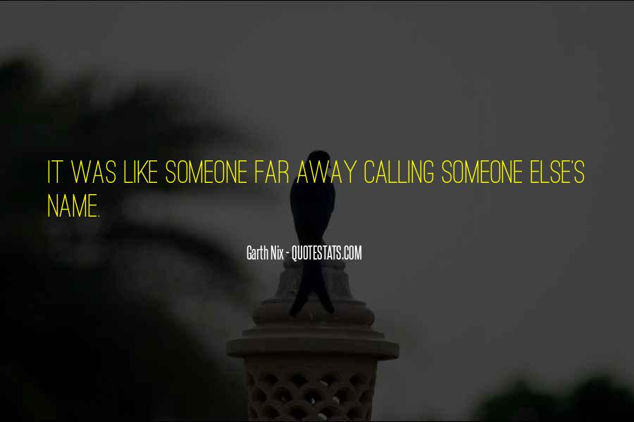 Quotes About Someone's Name #849803